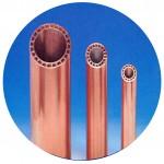 特殊溝付きニ重管熱交換器